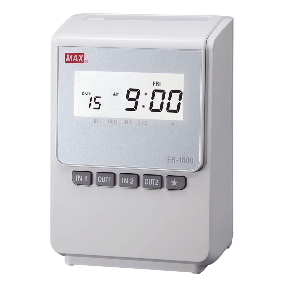 Stempeluhr MAX ER 1600